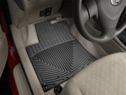 Toyota Corolla 2009-2012 - Коврики резиновые, передние, черные. (WeatherTech) фото, цена