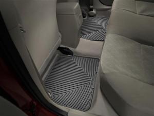 Toyota Corolla 2009-2012 - Коврики резиновые, задние, черные. (WeatherTech) фото, цена