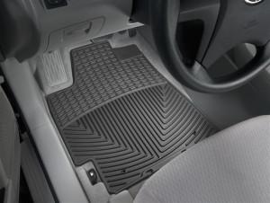 Toyota Highlander 2008-2013 - Коврики резиновые, передние, черные. (WeatherTech) фото, цена