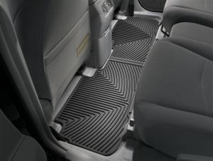 Toyota Highlander 2008-2013 - Коврики резиновые, задние, черные. (WeatherTech) фото, цена