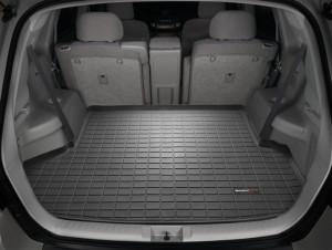 Toyota Highlander 2008-2013 - Коврик резиновый в багажник, черный. (WeatherTech) 5 мест фото, цена