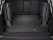 Toyota Land Cruiser 2008-2017 - Коврик резиновый в багажник, черный. (WeatherTech) 7 мест фото, цена