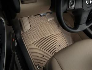 Toyota Rav 4 2006-2012 - Коврики резиновые, передние, бежевые. (WeatherTech) фото, цена