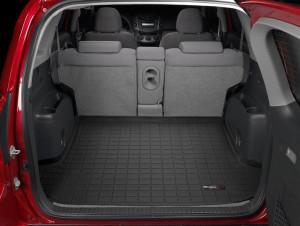 Toyota Rav 4 2006-2012 - Коврик резиновый в багажник, черный. (WeatherTech) фото, цена