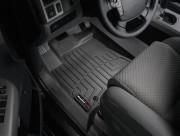 Toyota Tundra 2007-2011 - Коврики резиновые с бортиком, передние, черные. (WeatherTech) фото, цена