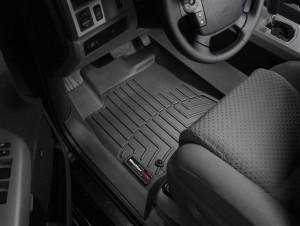 Toyota Tundra 2007-2012 - Коврики резиновые с бортиком, передние, черные. (WeatherTech) фото, цена