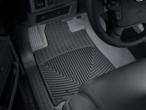Toyota Tundra 2007-2011 - Коврики резиновые, передние, черные. (WeatherTech) фото, цена
