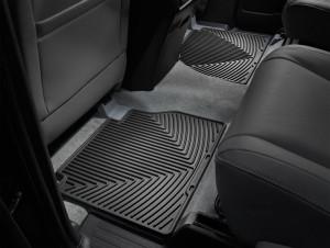 Toyota Tundra 2007-2018 - Коврики резиновые, задние, черные. (WeatherTech) фото, цена