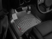 Volkswagen Touareg 2011-2017 - Коврики резиновые с бортиком, передние, черные. (WeatherTech) фото, цена