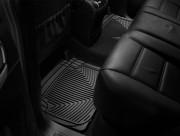 Volkswagen Touareg 2003-2010 - Коврики резиновые, задние, черные. (WeatherTech) фото, цена