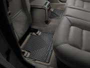 Volvo S60/S80 2010-2015 - Коврики резиновые, задние, черные (WeatherTech) фото, цена