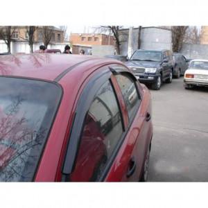 Chevrolet Aveo 2002-2008 - (h/b) - Дефлекторы окон (ветровики), комлект. (HIC) фото, цена