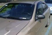 Chevrolet Aveo 2006-2012 - Дефлекторы окон (ветровики), комлект. (Clover) фото, цена