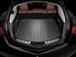 Acura ZDX 2010-2013 - Коврик резиновый в багажник, черный. (WeatherTech) фото, цена
