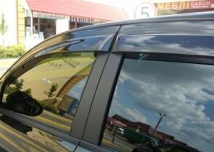 Nissan Qashqai 2006-2008 - Дефлекторы окон (ветровики), комлект. (HIC) фото, цена