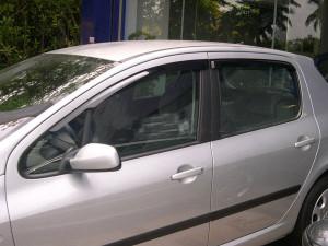 Peugeot 307 2002-2012 - Дефлекторы окон (ветровики), комлект. (HIC) фото, цена