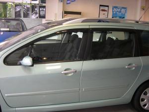 Peugeot 307 2002-2012 - (Wagon) - Дефлекторы окон (ветровики), комлект. (HIC) фото, цена