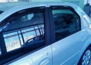 Renault Logan 2004-2012 - Дефлекторы окон (ветровики), комлект. (HIC) фото, цена