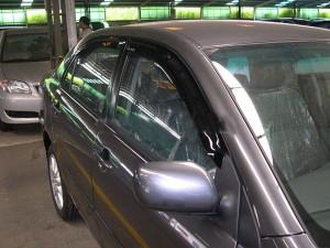 Toyota Corolla 2007-2012 - Дефлекторы окон (ветровики), комлект. (HIC) фото, цена