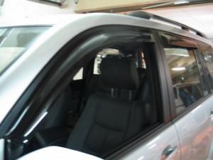 Toyota Land Cruiser Prado 2003-2008 - Дефлекторы окон (ветровики), комлект. (HIC) фото, цена