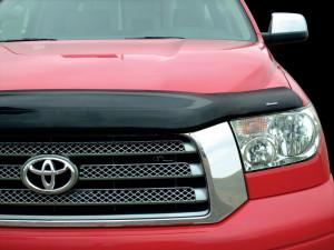 Toyota Tundra 2007-2012 - Дефлектор капота, темный (Stampede) фото, цена