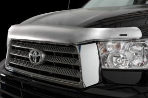 Toyota Tundra 2007-2012 - Дефлектор капота, хромированный (Stampede) фото, цена