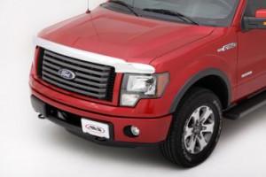 Toyota Tundra 2007-2012 - Дефлектор капота, хромированный (AVS) фото, цена