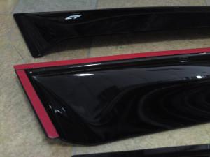 Chevrolet Aveo 2002-2007 - (htb) - Дефлекторы окон (ветровики), комлект. (Cobra Tuning) фото, цена