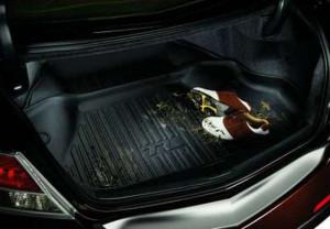 Acura TL 2009-2014 - Резиновый коврик с бортиком в багажник. (Acura) фото, цена