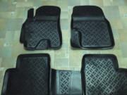 Ssang Yong Actyon 2006-2014 - Коврики резиновые, черные, комплект 5 штук. (Eleron) фото, цена