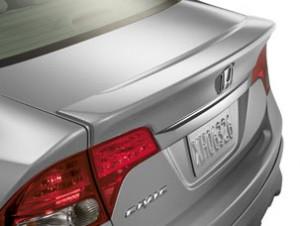 Honda Civic 2006-2013 - Лип-cпойлер на крышку багажника, Honda фото, цена