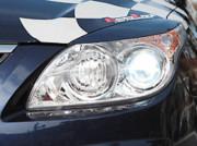Hyundai i 30 2007-2010 - Реснички на фары, комплект 2 штуки, широкие, UA фото, цена