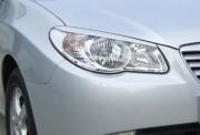 Hyundai Elantra 2006-2010 - Реснички на фары, комплект 2 штуки, узкие, UA фото, цена