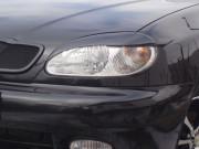 Hyundai Elantra 2006-2010 - Реснички на фары, комплект 2 штуки, широкие, UA фото, цена