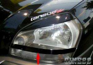 Hyundai Tucson 2004-2014 - Реснички на фары, из 2х частей, нижние, UA фото, цена