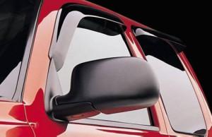 BMW X5 2004-2008 - Дефлекторы окон (ветровики), комплект 4 штуки, темные. (EGR) фото, цена