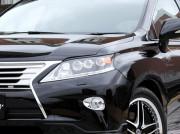 Lexus RX 2011-2013 - Реснички на фары. JAOS (Под покраску). фото, цена