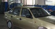 Daewoo Nexia 1995-2008 - Дефлекторы окон, комплект 4 штуки, темные, EGR фото, цена