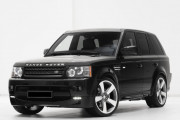 Land Rover Range Rover Sport 2010-2013 - Накладка переднего бампера, нижняя губа (STARTECH) фото, цена