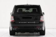 Land Rover Range Rover Sport 2010-2013 - Накладка заднего бампера, нижняя губа (STARTECH) фото, цена