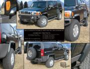 Hummer H3 2006-2010 - Расширители арок без брызговиков (E&G Classic) фото, цена