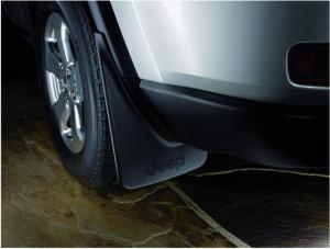 Jeep Grand Cherokee 2011-2014 - Брызговики задние к-т 2шт. (Chrysler). фото, цена