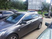 Hyundai Elantra 2011-2014 - Дефлекторы окон к-т 4 шт. (Clover) фото, цена