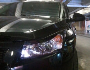 Chevrolet Cruze 2009-2013 - Реснички на фары, комплект 2 штуки, UA фото, цена