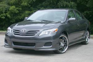 Toyota Camry 2010-2011 - Накладки переднего и заднего бамперов (обвес) (RAZZI) фото, цена