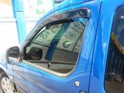 Peugeot Partner 1997-2008 - Дефлекторы окон (ветровики). (HIC) фото, цена