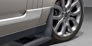 Land Rover Range Rover 2013-2015 - Брызговики передние, для автомобиля с подножками, к-т 2 шт (LR). фото, цена