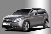 Chevrolet Orlando 2010-2013 - Дефлекторы окон (ветровики), комлект. (Clover) фото, цена