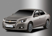Chevrolet Malibu 2011-2013 - Дефлекторы окон (ветровики), комплект. (Clover) фото, цена