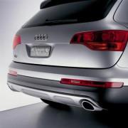 Audi Q7 2006-2010 - Накладка заднего бампера Offroad. фото, цена